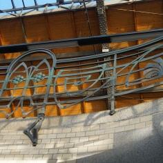 Detail from `Wroclaw Glowny` Railways Station