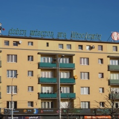 The Popular Neon of Wroclaw : `Good evening from Wroclaw`