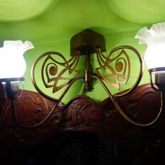 Detail, in the doorway