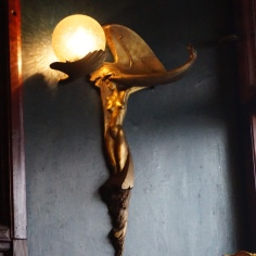Lamp detail, inside