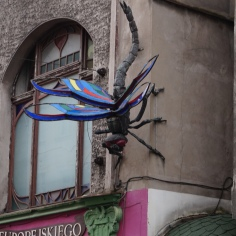 The Dragonfly on the facade