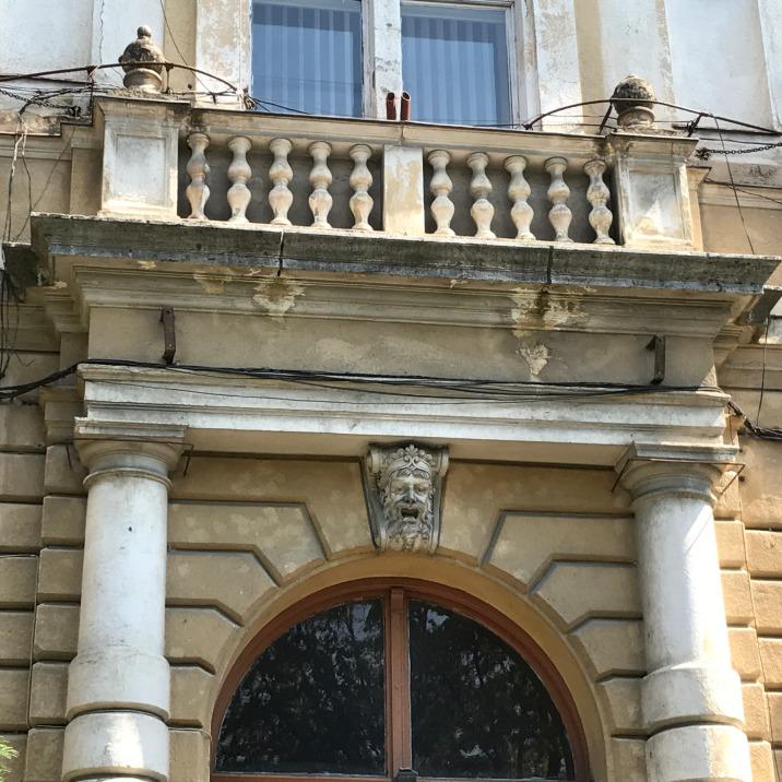 Flag pole holders, Satu Mare