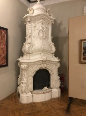 Rococo Style Tile Stove