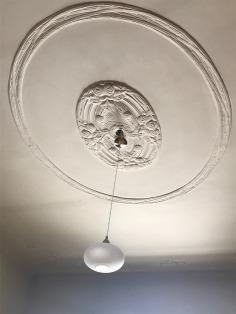 Round floral pattern, ceiling detail, Darvas La Roche, 7