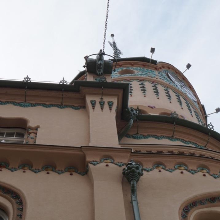 Rain Pipe-Black Eagle Palace, Oradea