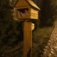 Books Box in Krynki, North Eastern Poland