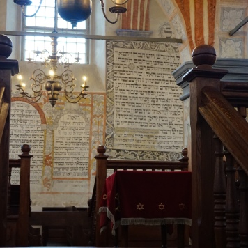 Interior, Tykocin Synagogue