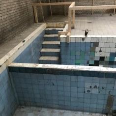 Ritua Bath, the two pools, White Stork Synagogue Complex, Wroclaw