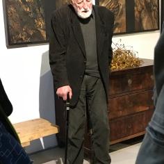 A.Strumillo in his studio, October 2017