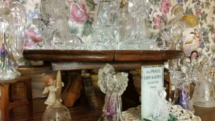 Altar made of Crystal Angels