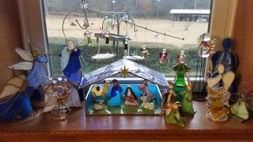 Angels governing Birth of Christ