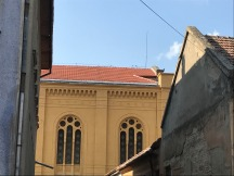 Carei, Synagogue, Side view