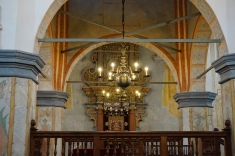Chandelier in Tykocin Synagogue
