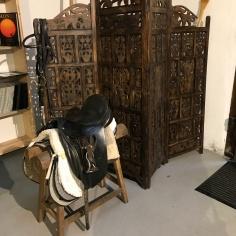 Horse Saddle, the Artist`s Studio