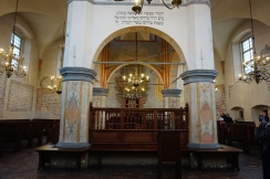 Tykocin Synagogue, Inside Detail, the Bimah