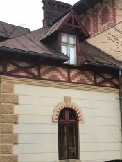 Art Nouveau Facade, detail