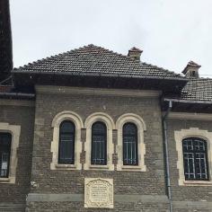 Cantacuzino Castle, Back Entrance