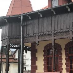 Transylvanian Vernacular Influence, detail, porch