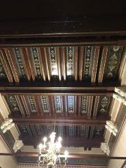Ceiling with Folk Motives