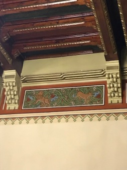 Eclectic Frieze with Animal, Floral, and Geometric Motives