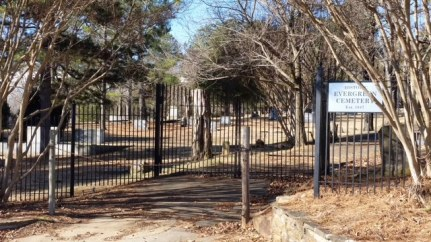 Entrance to Evergreen Cemetery