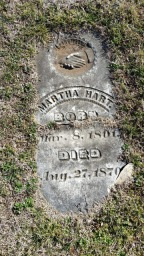 Funerary Stone, the end of the Nineteenth Century