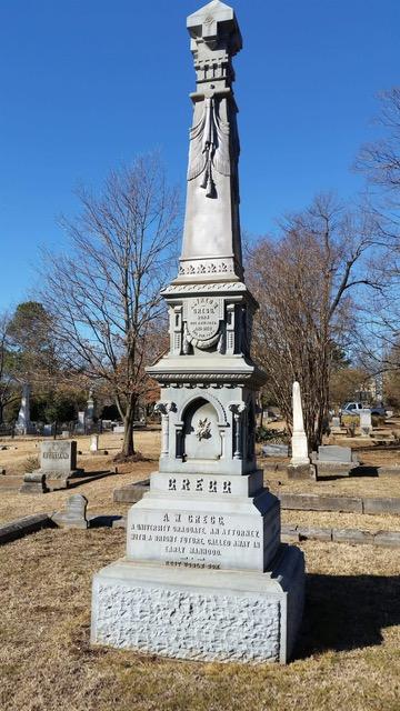 Gregg Family Monument