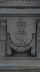 Masonic Symbols, Lafayette Gregg Funerary Stone