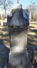Neo-Classic Tombstone, Nineteenth Century, 2