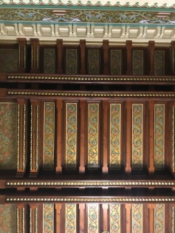 Ornated Ceiling, Detail