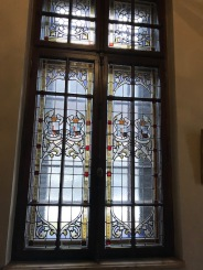Stained Glass, the Coat of Arms of Cantacuzino Family