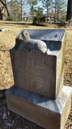 Tombstone of a child, End of the Nineteenth Century