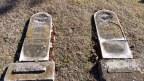 Tombstones, Nineteenth Century, various symbols, 3