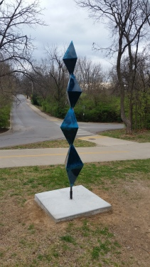 Brancusi style of sculpture, Fayetteville, AR, USA