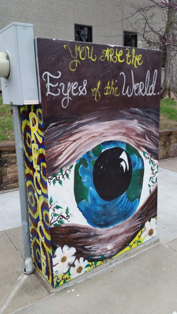 Painted Electrical Board Box, 5, Fayetteville, AR, USA