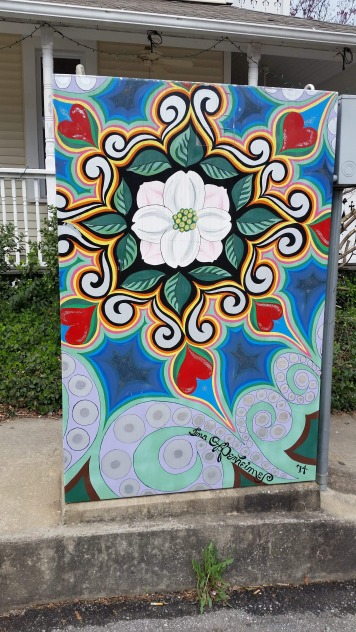 Painted Electrical Board Box, 6, Fayetteville, AR, USA