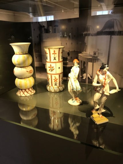 Active Figures in Porcelain Museum located in Augarten Park
