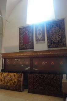 Anatolian Rugs in the Honigsberg Church