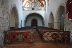 Anatolian Rugs in the Lutheran Church of Prejmer, Tartlau
