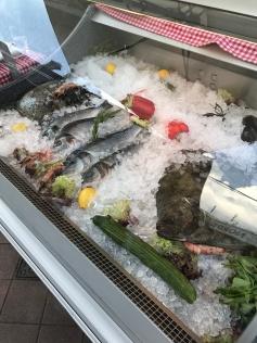 Fish, Naschmarkt, Vienna