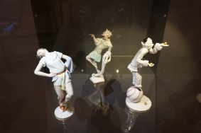 Items in Porcelain Museum located in Augarten Park