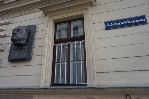 Leopoldsgasse and Otto Bauer Plaques