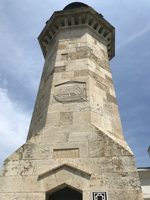 Lighthouse built in the 1860 by an Armenian military for the British Company Danube and Black Sea Railway, company that modernized at the time the Constanța harbour