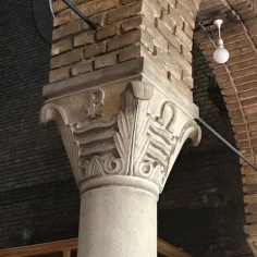 Maritime Symbols on the Column in Saint Anthony Church