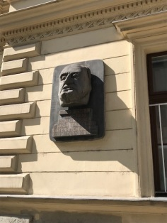 Memorial Plaque to Otto Bauer, one of the most prominent theorists of Austrian Version of Social-Democracy