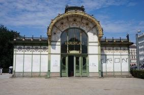 Otto Wagner Pavillion, Karlsplatz