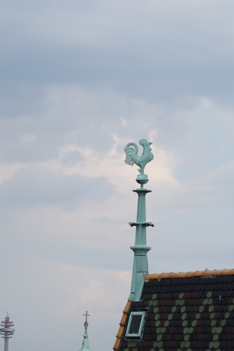 Rooster Decoration on Saint Stephen Cathedral`s Roof, courtesy Rod Jacobs