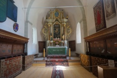 The Altar of Honigberg Church