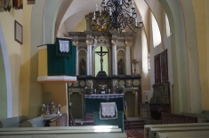 The Altar of the Lutheran Church, Râșnov (Rosenau)
