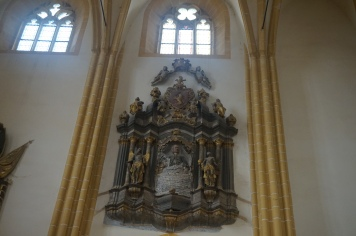 The Funerary Monument of Baron von Brukenthal, Habsburg governor of Principality of Transylvania in the 18th century, located now in the Upper side of the Chcurch (he was the last to be